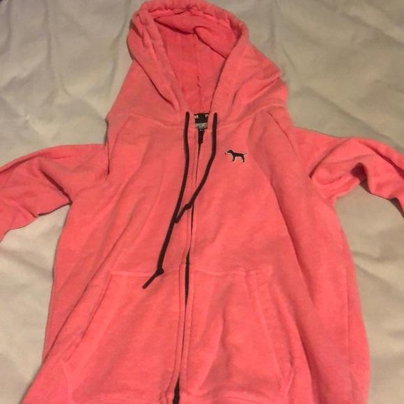 PINK Victoria's Secret Jackets & Blazers - Victoria Secret pink zip up